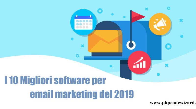 I 10 migliori software di email marketing del 2019