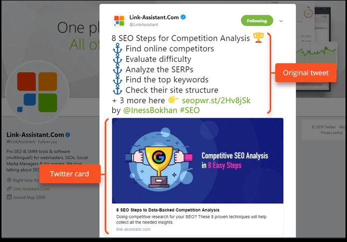 ottimizzare le cards di twitter con un tag html essenziale per la SEO