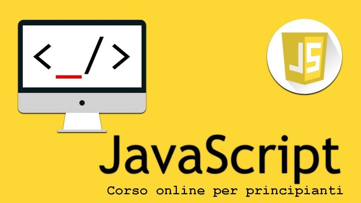 Corso Javascript per principianti