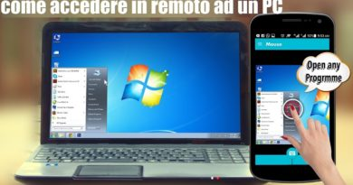 come accedere in remoto ad un PC