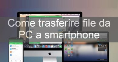 Come trasferire file da PC a smartphone