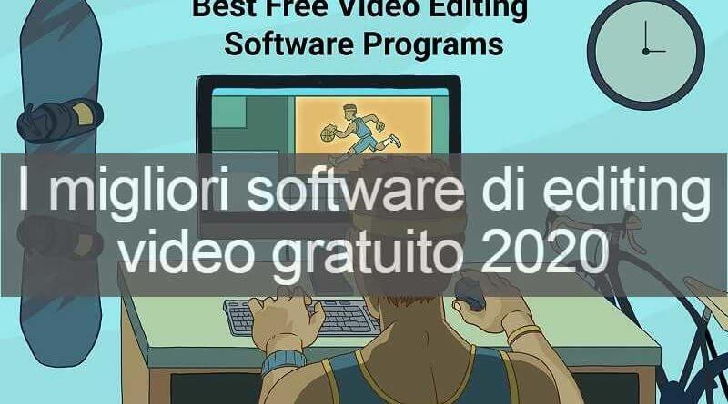 i migliori software di editing video