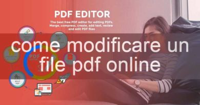 modificare un pdf