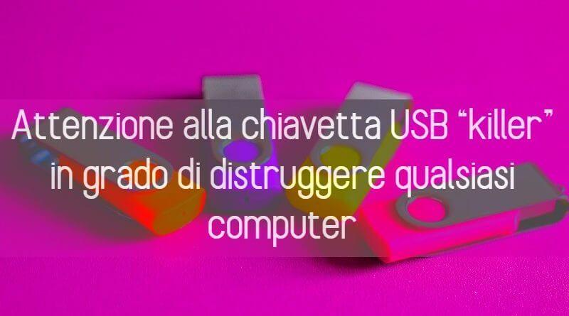 Chiavetta USB Killer
