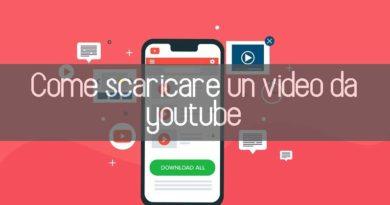 scaricare un video di YouTube