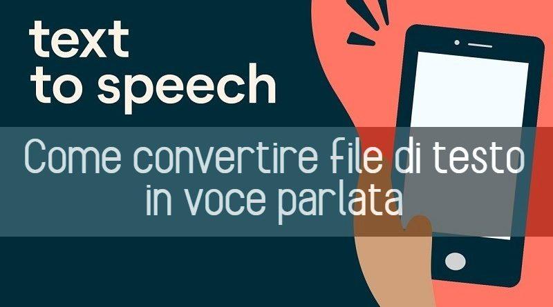 Miglior Text To Speech