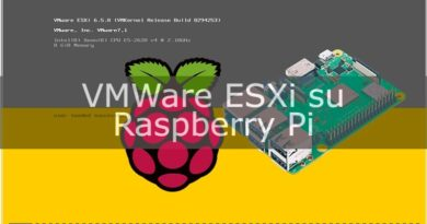 ESXi su Raspberry Pi