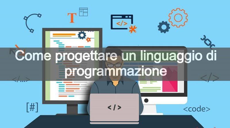 creare un linguaggio di programmazione