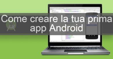 creare un app android