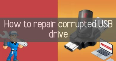 how to repair corrupted usb drive