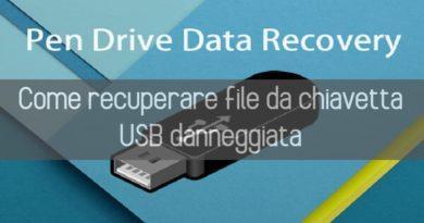 recuperare file da chiavetta USB