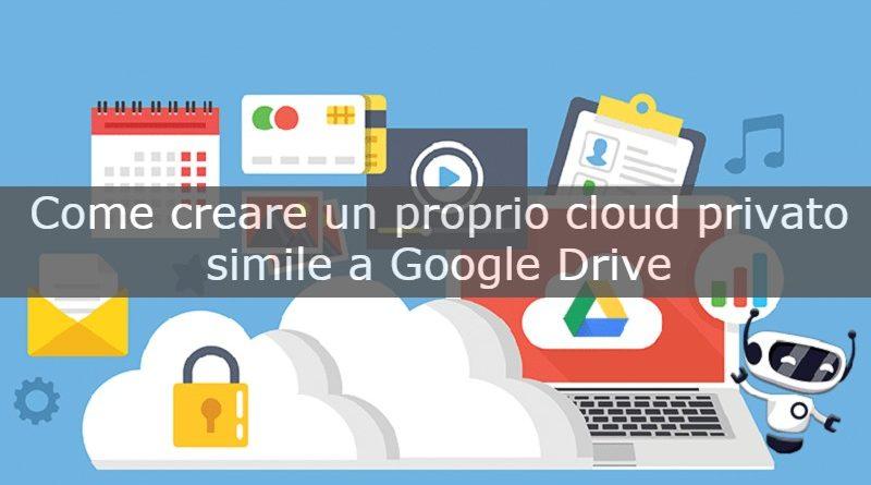 creare un tuo cloud privato