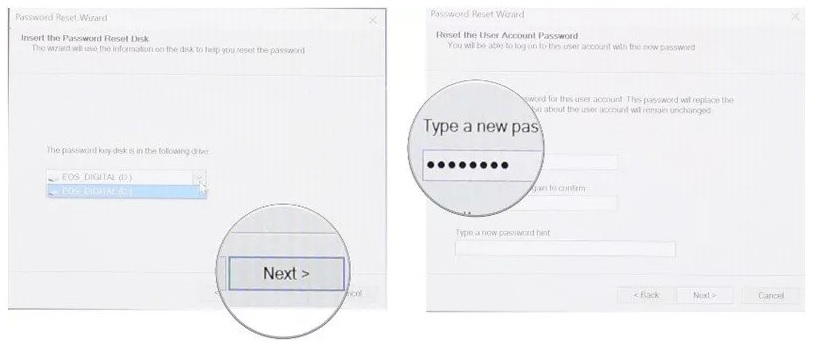 how to reset the windows 10 password