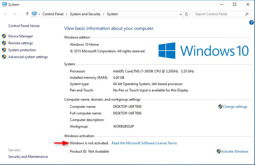 come attivare windows 10 gratis