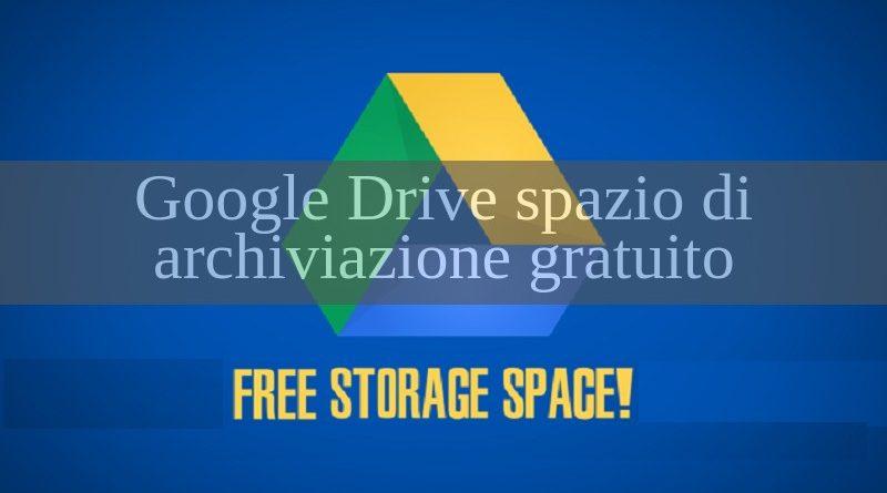 google drive spazio