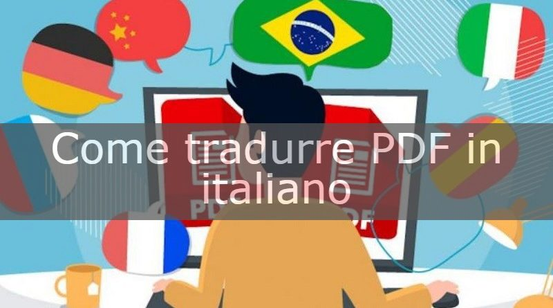 tradurre pdf in italiano