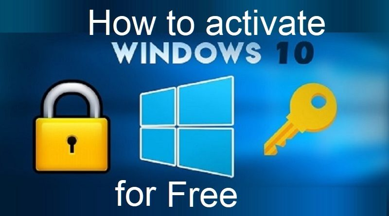 howtoactivatewindowsforfree
