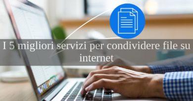 condividere file su internet