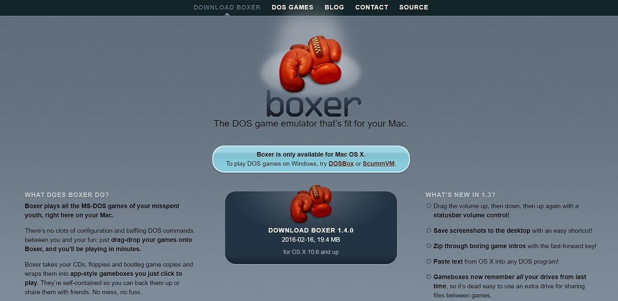 boxer emulator
