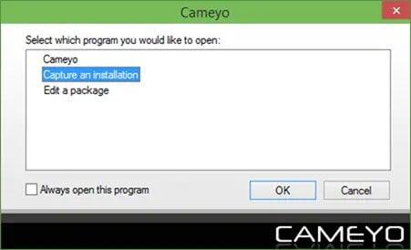 cattura applicazione per velocizzare windows 10 creando programmi portable