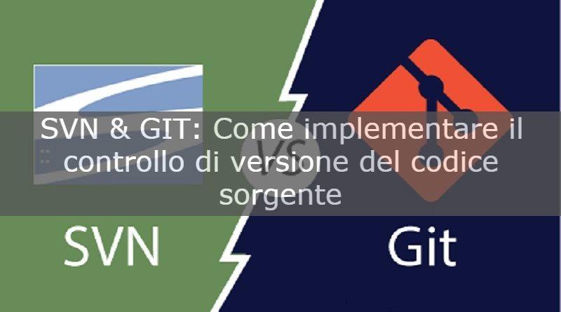 SVN & GIT