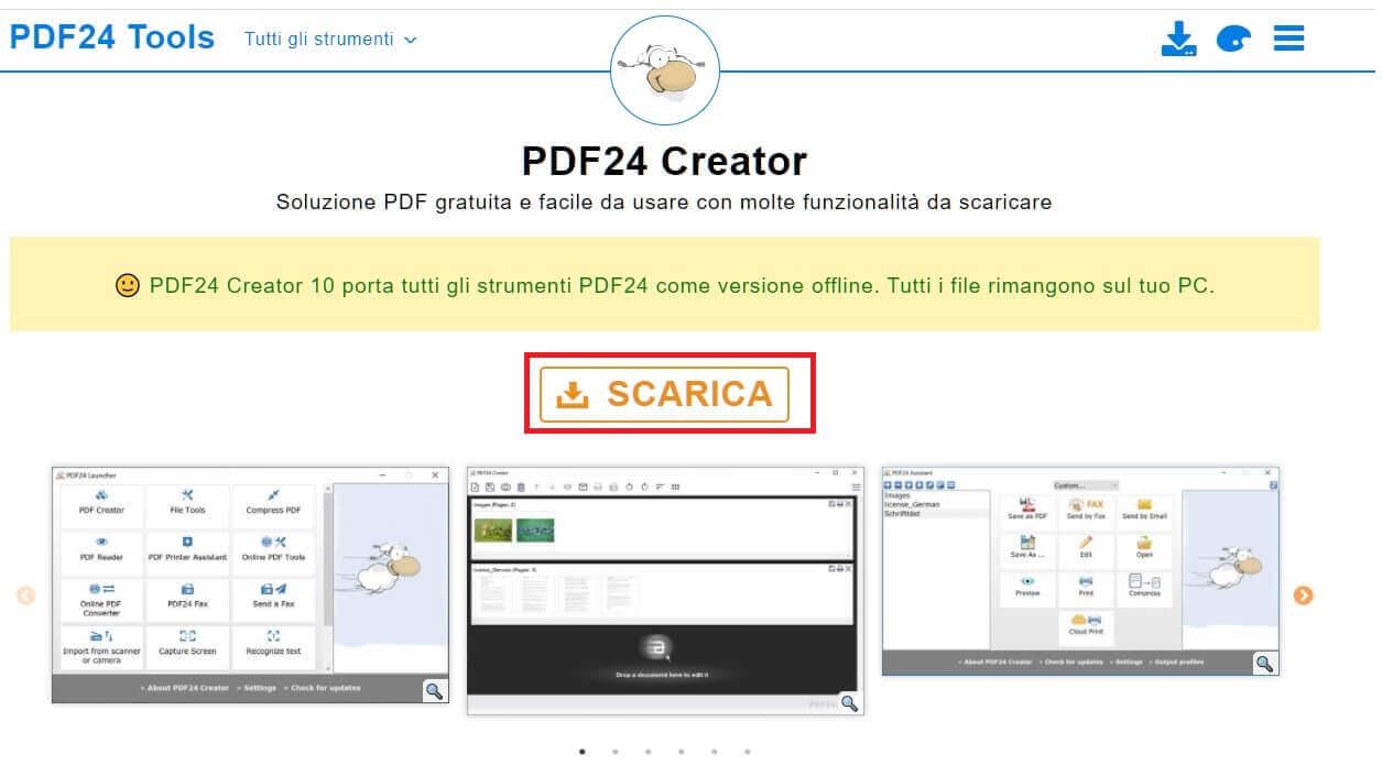 download pdf24 creator