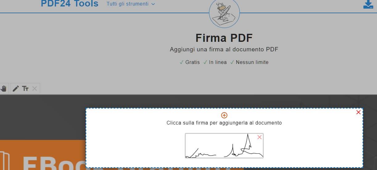 firmare e convertire pdf