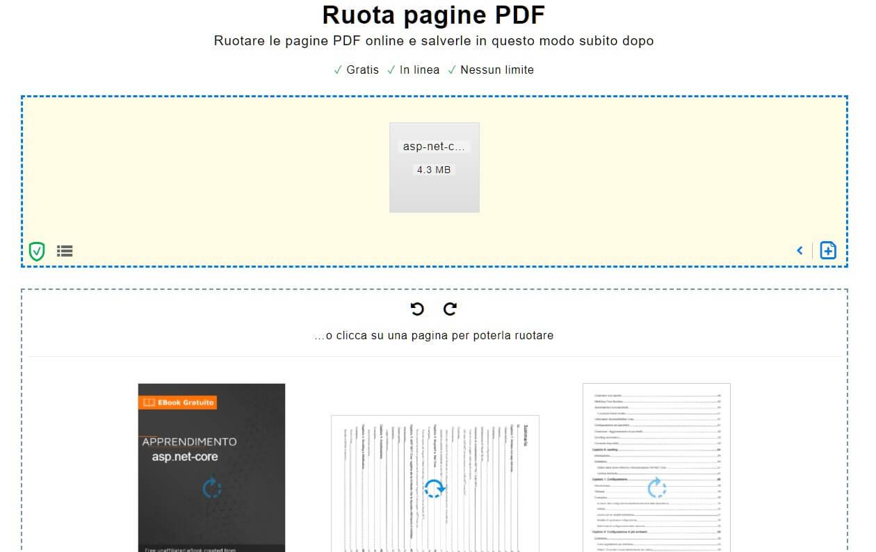 ruotare pdf