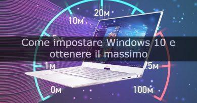 impostare windows 10