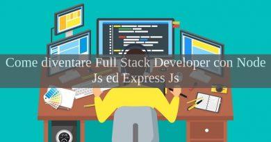 node js - full stack developer - express js