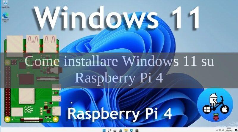 windows 11 su raspberry