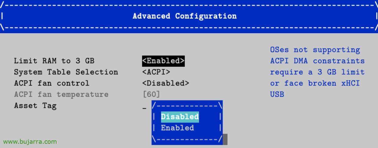 disattivare il limite a 3GB su raspberry Pi 4