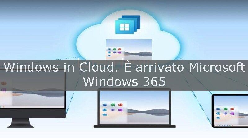 windows in cloud