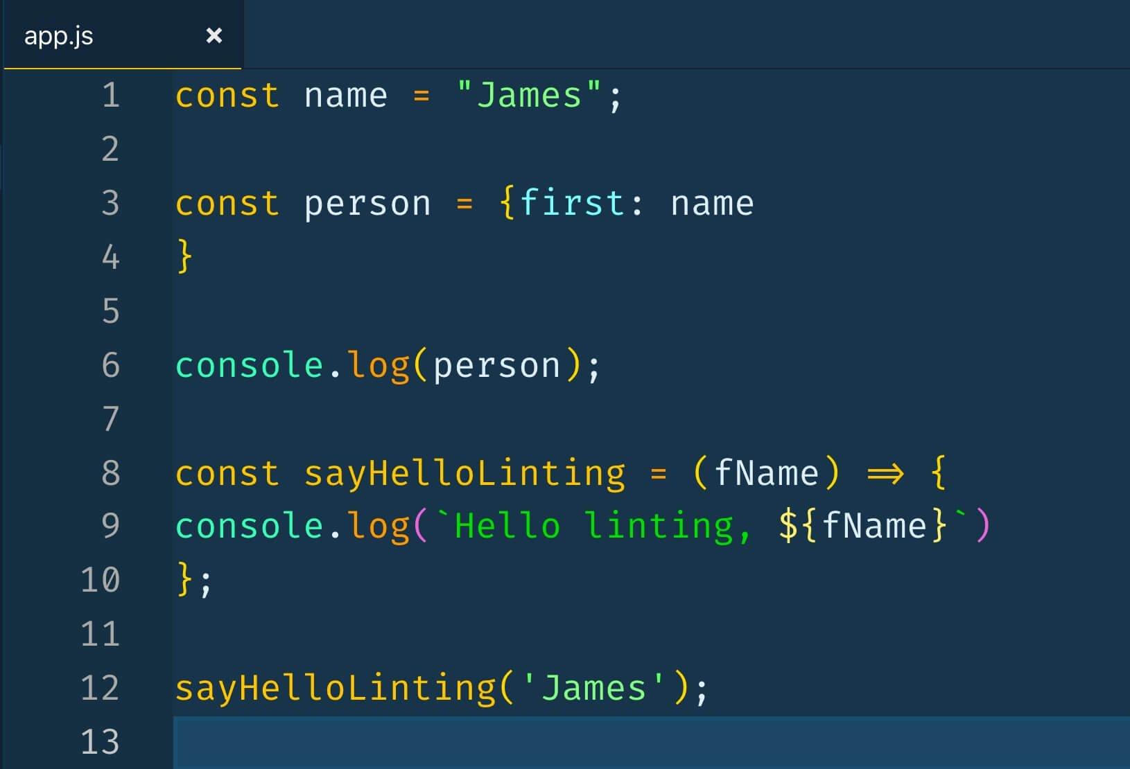 come creare un programma formattato con prettier