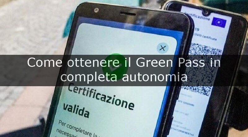 come ottenere il green pass