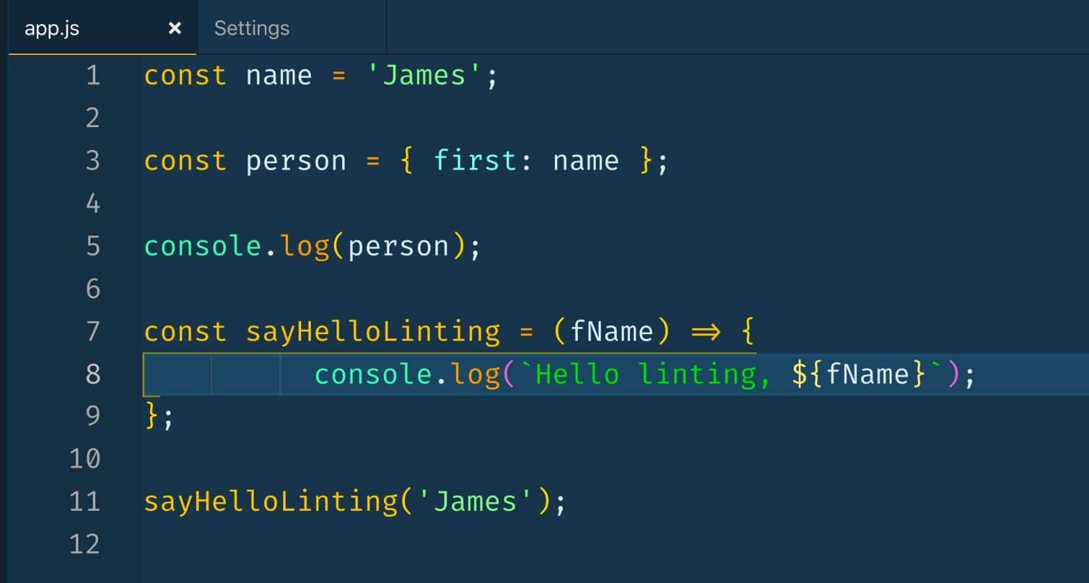 riformattazione codice in seguito a modifica valore tab width