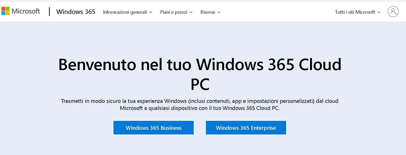 windows 365 -home page