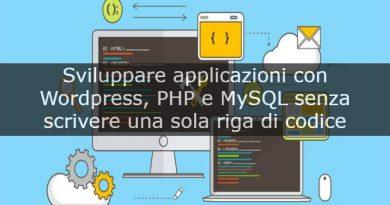 sviluppare web app