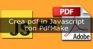 crea pdf con pdfmake