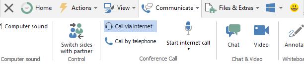 scheda communicate di teamviewer
