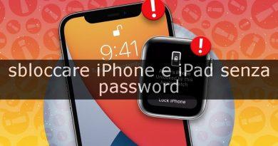 sbloccare iphone